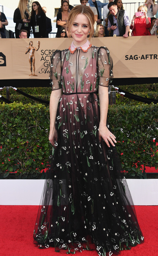 Claire Foy, 2017 SAG Awards, Arrivals
