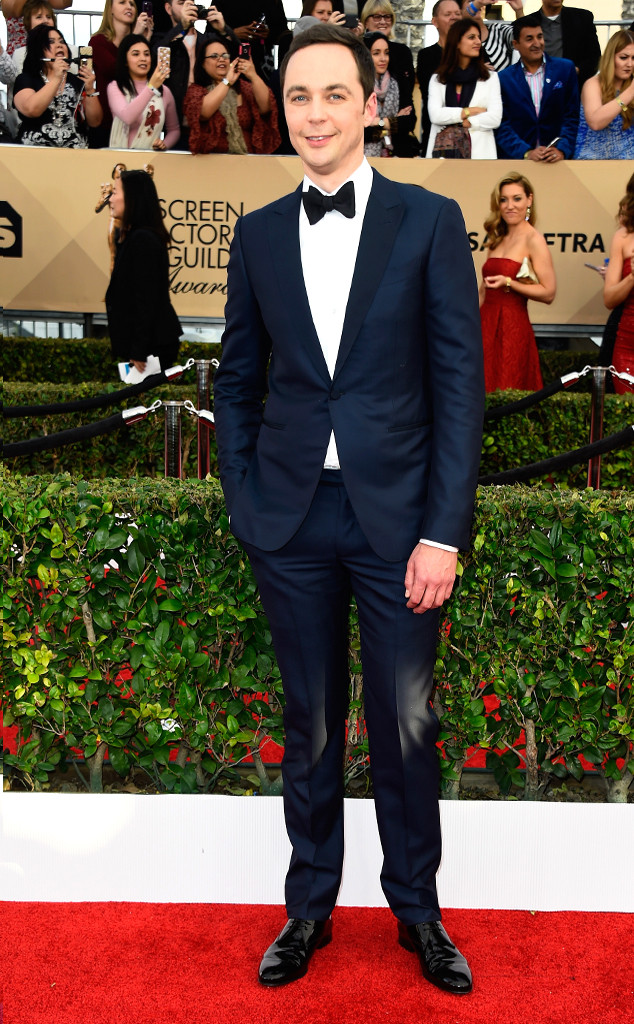 Jim Parsons, 2017 SAG Awards, Arrivals
