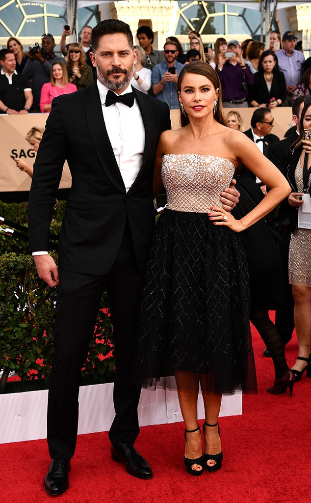 Joe Manganiello, Sofia Vergara, 2017 SAG Awards, Couples