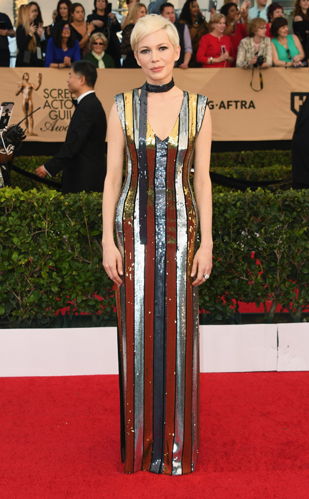 Michelle Williams, 2017 SAG Awards, Arrivals