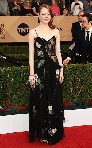 Emma Stone, 2017 SAG Awards, Arrivals