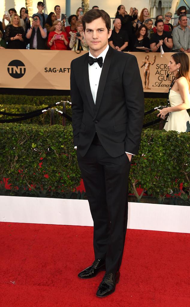 Ashton Kutcher, 2017 SAG Awards, Arrivals