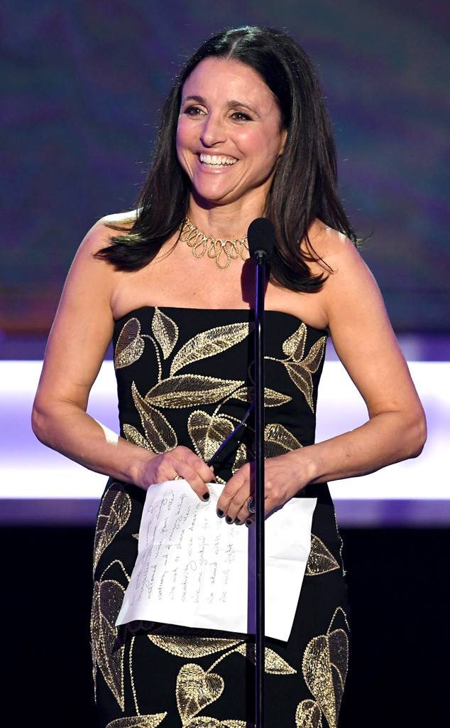 Julia Louis-Dreyfus, 2017 SAG Awards, Winners