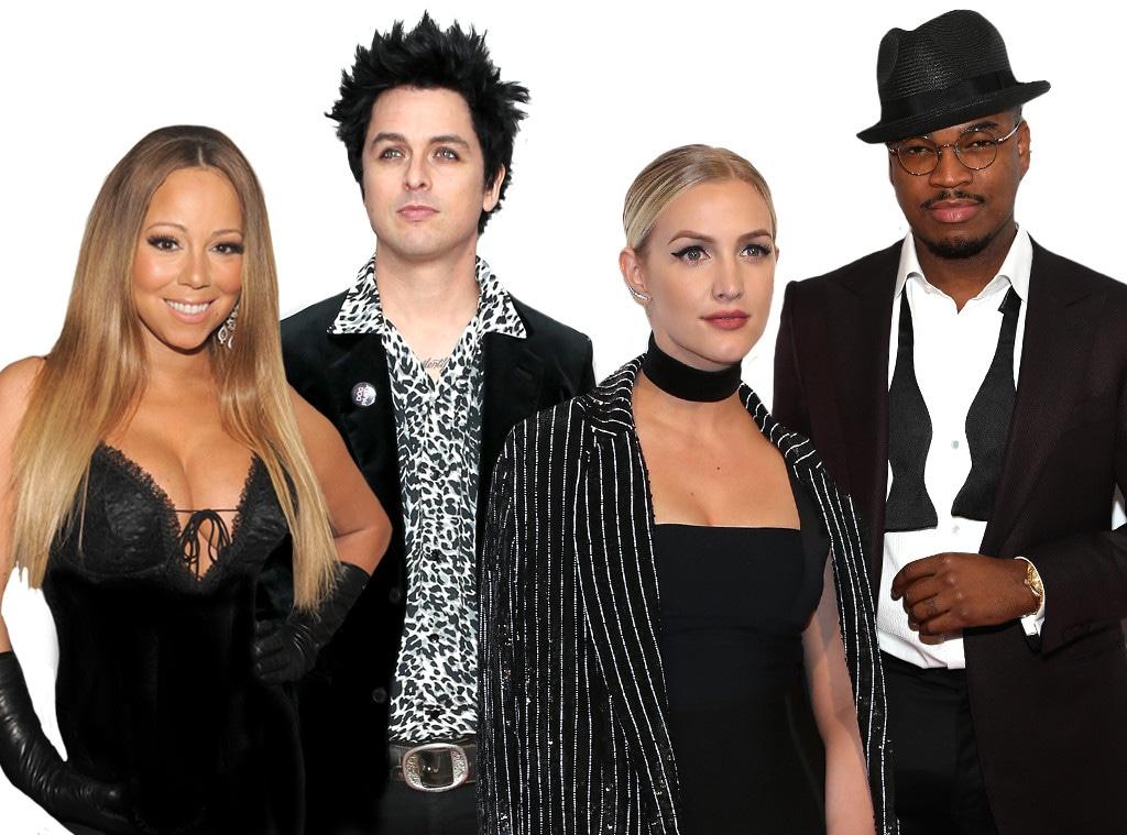 Mariah Carey, Ashlee Simpson, Ne-yo, Billie Joel Armstrong