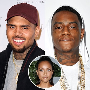 Chris Brown, Soulja Boy,  Karrueche Tran