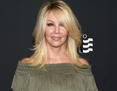 Heather Locklear Hospitalized With Minor Injuries After