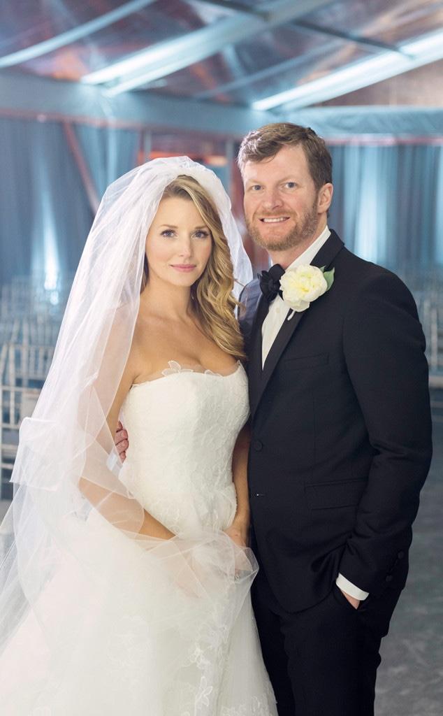 Dale Earnhardt Jr., Amy Reimann, Wedding