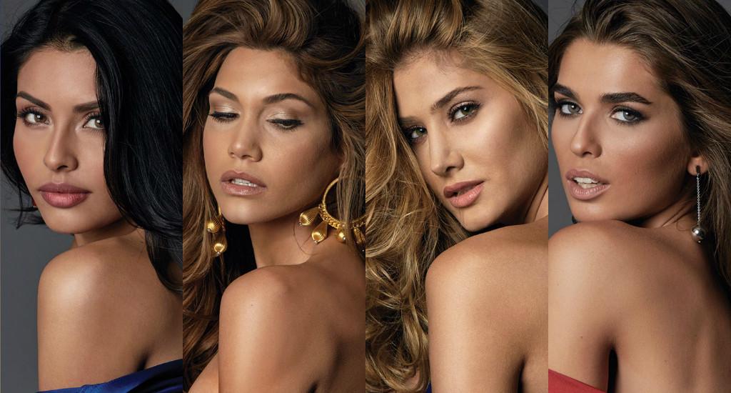 Miss Mexico, Miss Panama, Miss Venezuela, Miss Argentina