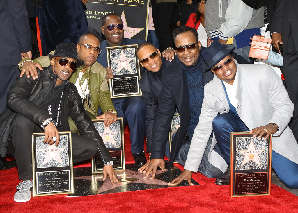 New Edition, Hollywood Walk of Fame