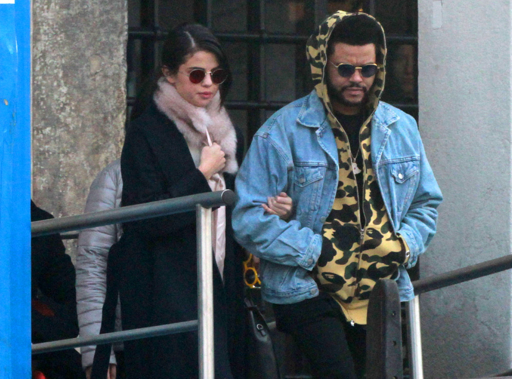 Selena Gomez, The Weeknd, Italy