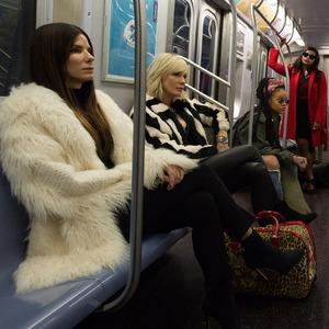 Ocean's Eight, Sandra Bullock, Cate Blanchett, Rihanna, Mindy Kaling, Awkwafina, Helena Bonham Carter, Anne Hathaway, Sarah Paulson