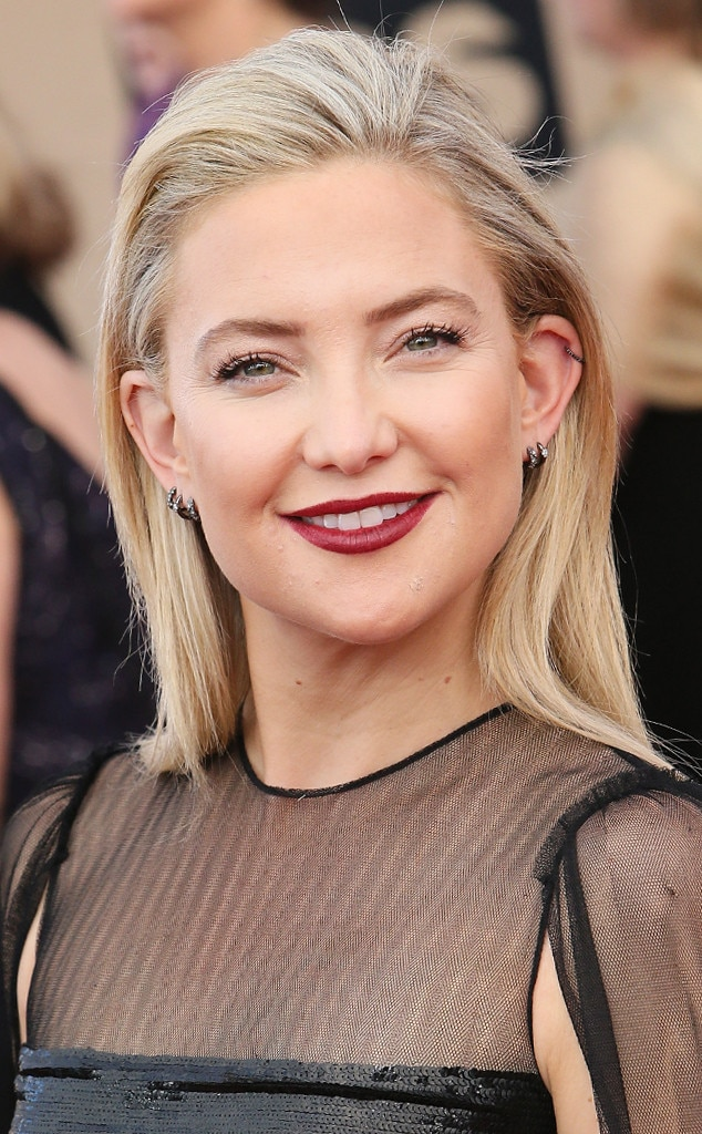 Kate Hudson From Best Lip Colors At The 2017 Sag Awards E News