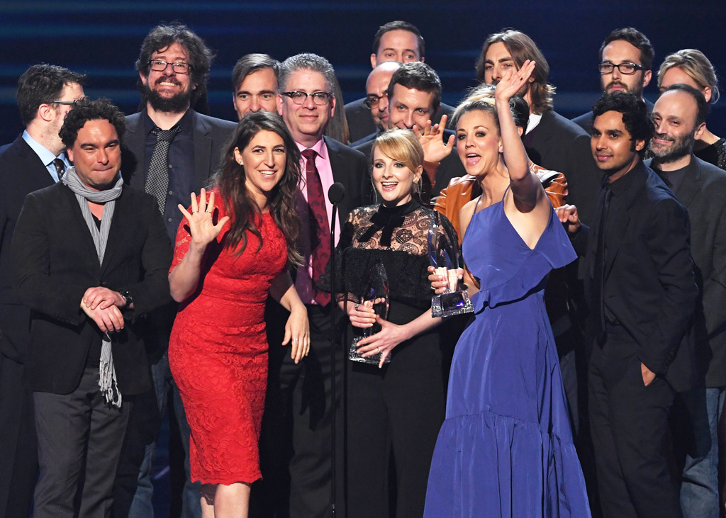 Big Bang Theory, People's Choice Awards, Winners
