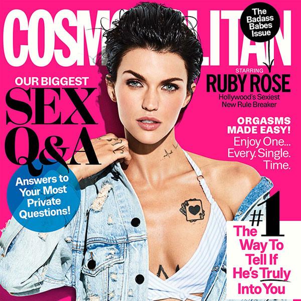 Ruby Rose, Cosmopolitan