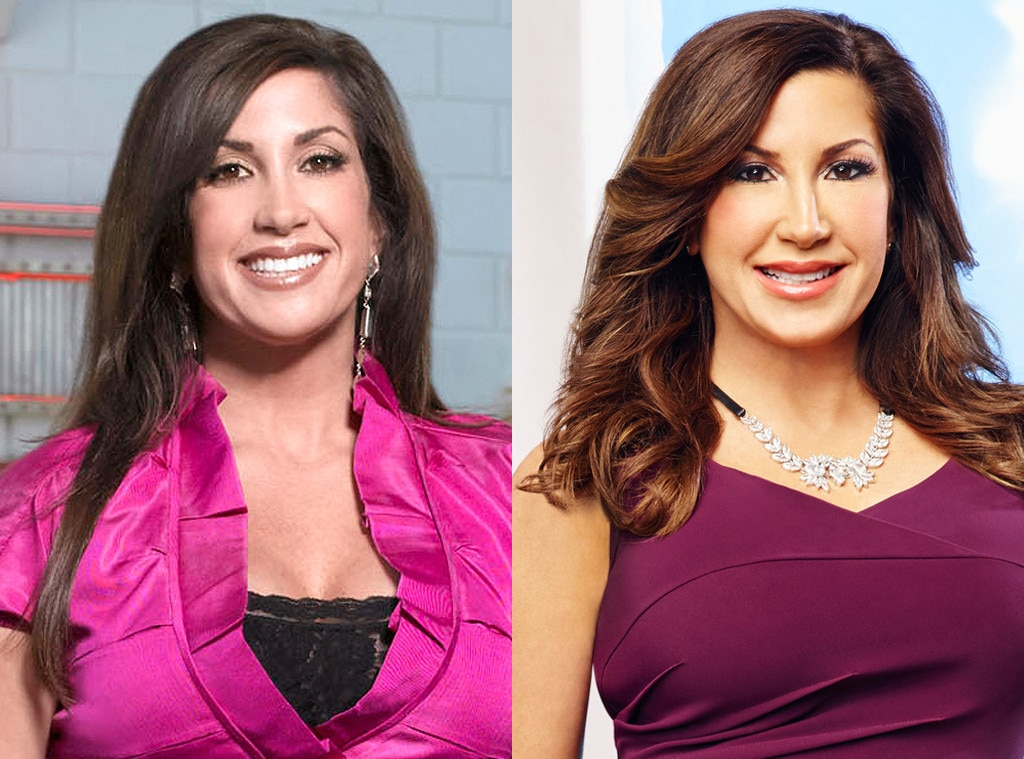 Jacqueline Laurita Real Housewives Of New Jersey Season 1 Vs Season 7