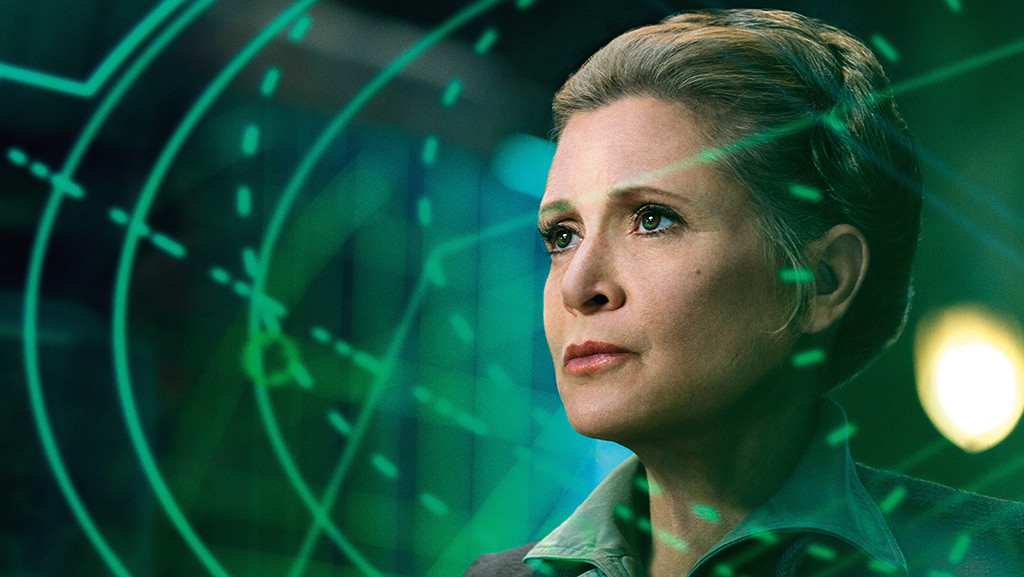 Carrie Fisher, Star Wars, The Force Awakens