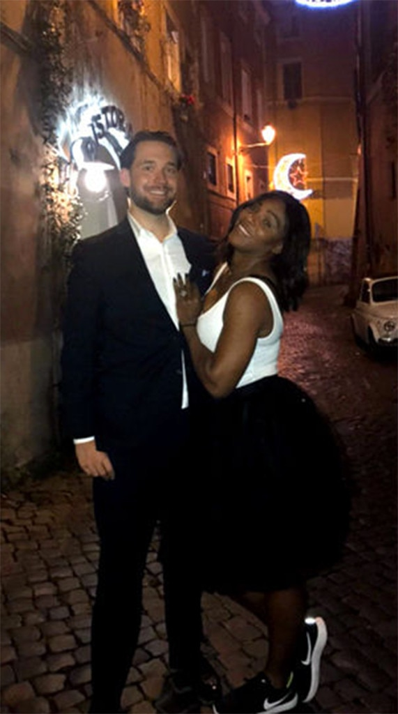 Alex Ohanian, Serena Williams, Instagram, Engagement