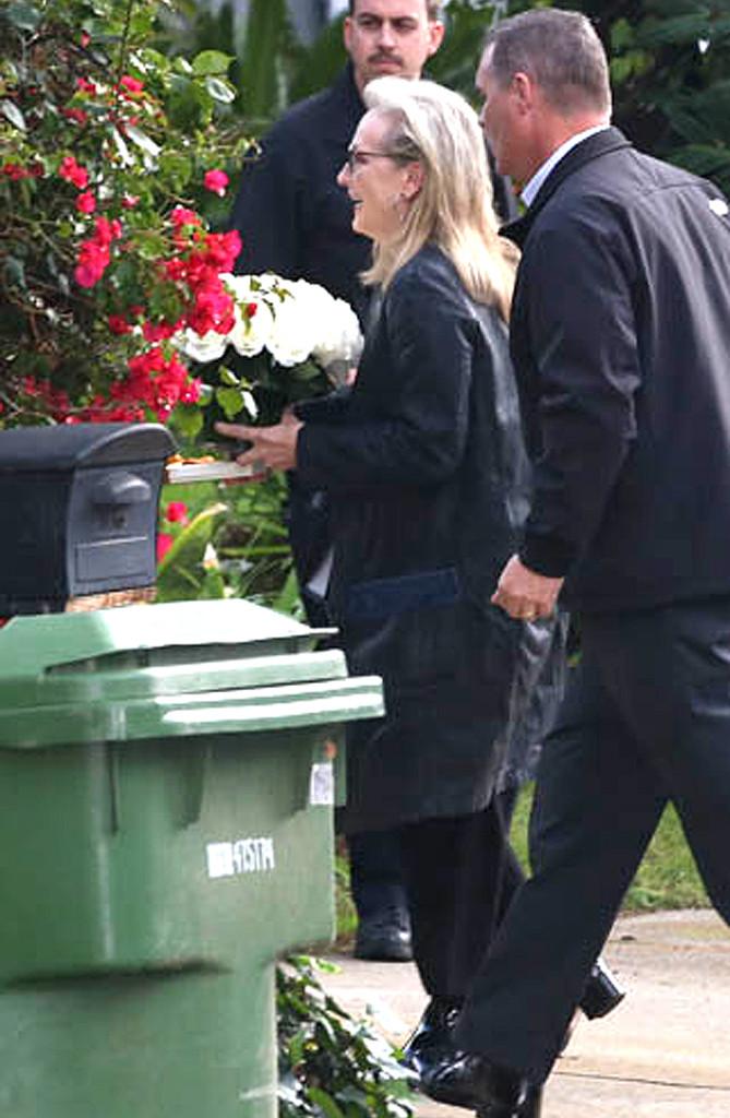 Meryl Streep, Carrie Fisher and Debbie Reynolds Memorial