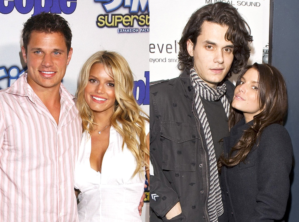 Post-Break Up Looks, Nick Lachey, John Mayer, Jessica Simpson