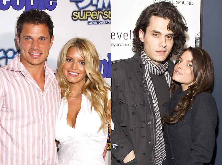 Post-Break Up Looks, Nick Lachey, John Mayer, Jessica Simpson