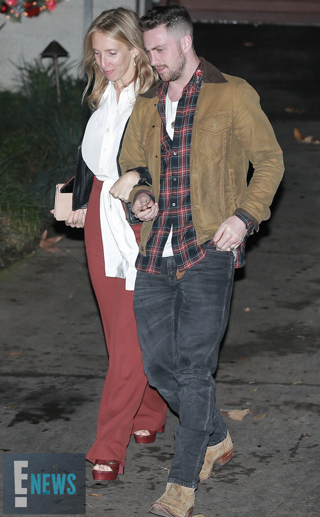 Sam Taylor-Johnson, Aaron Taylor-Johnson, Bradley Coopers Birthday, EXCLUSIVE