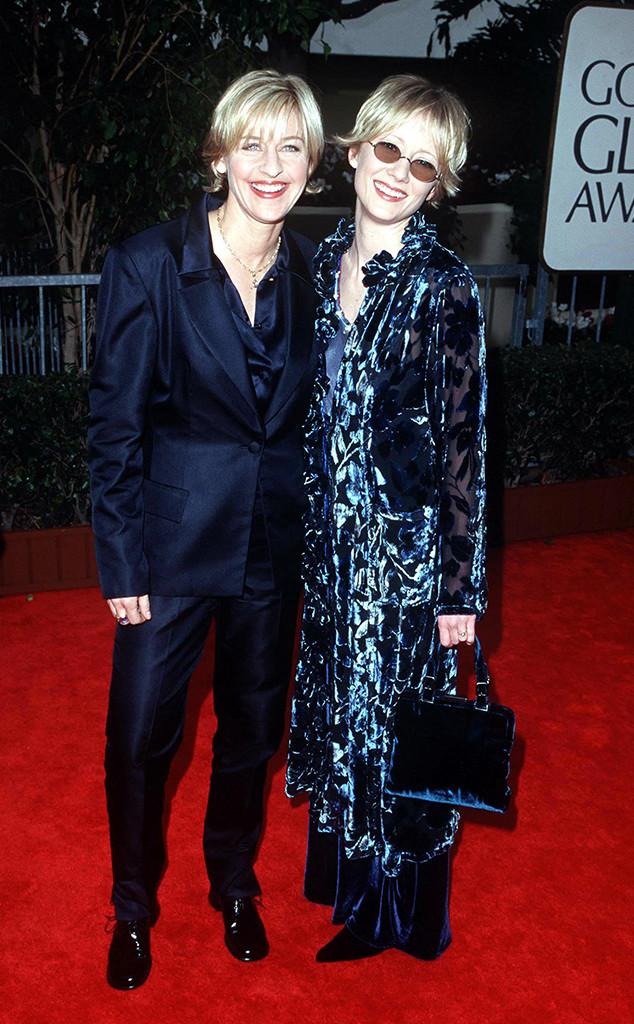 Golden Globes, Ellen DeGeneres, Anne Heche