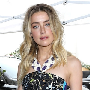 Amber Heard, Golden Globes Luncheon