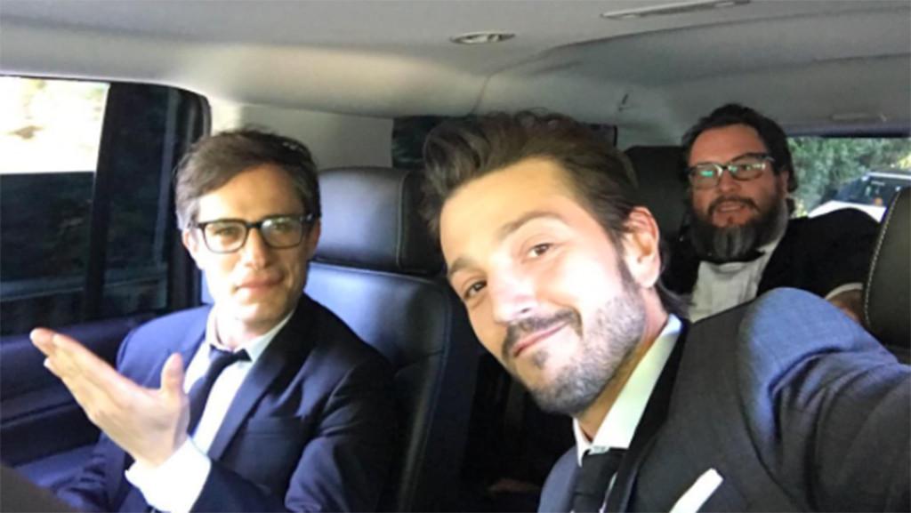 Gael Garcia Bernal, Dego Luna, 2017 Golden Globes, Instagram