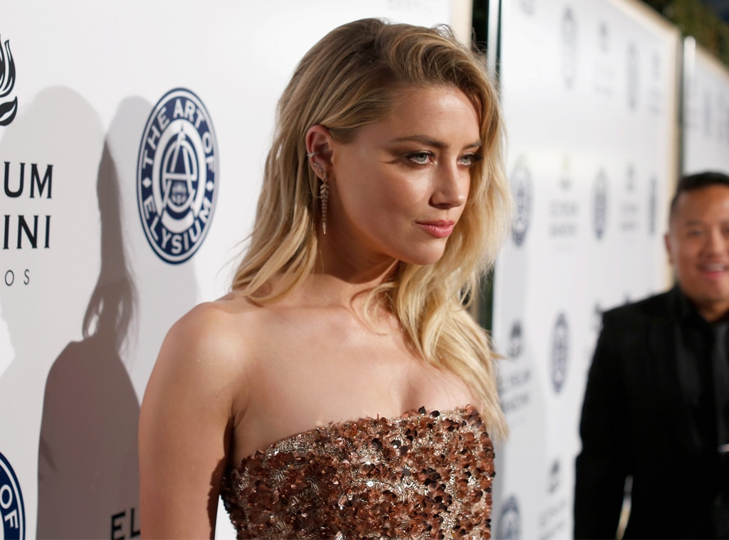 Amber Heard From Golden Globes 2017 Party Pics  E News-4949