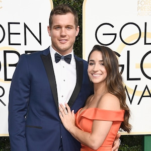 Colton Underwood, Aly Raisman, 2017 Golden Globes, Couples