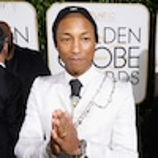 Pharrell Williams, 2017 Golden Globes
