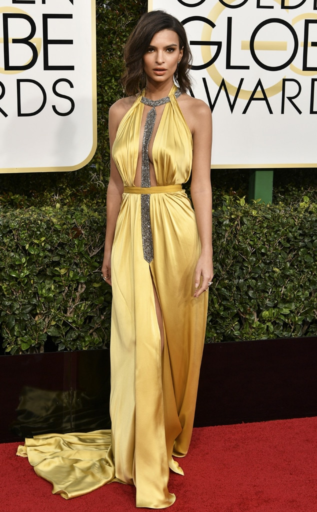 Emily Ratajkowski, 2017 Golden Globes, Arrivals