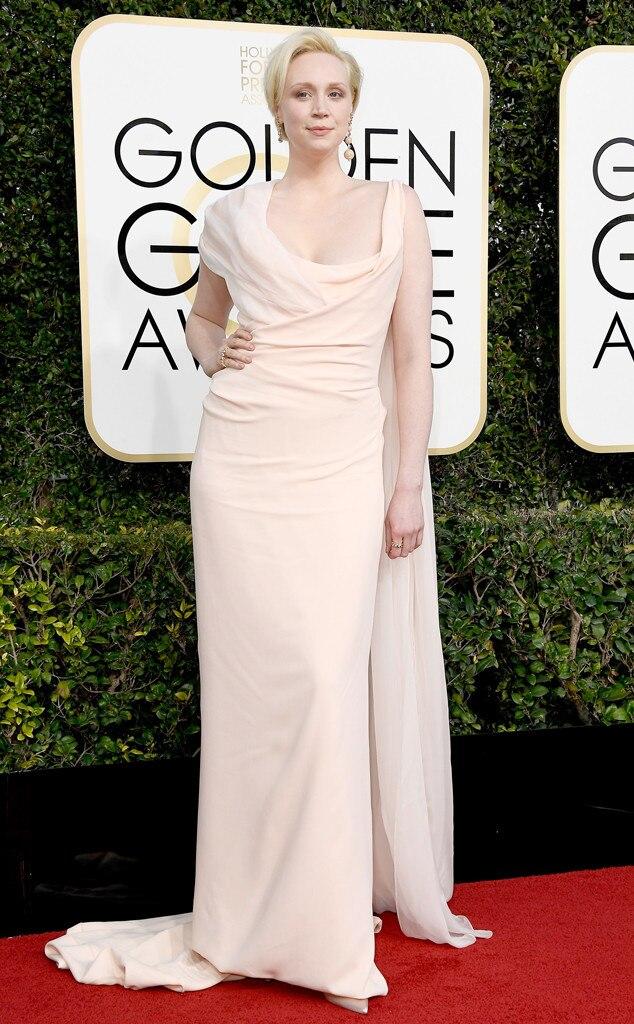 Gwendoline Christie, 2017 Golden Globes, Arrivals