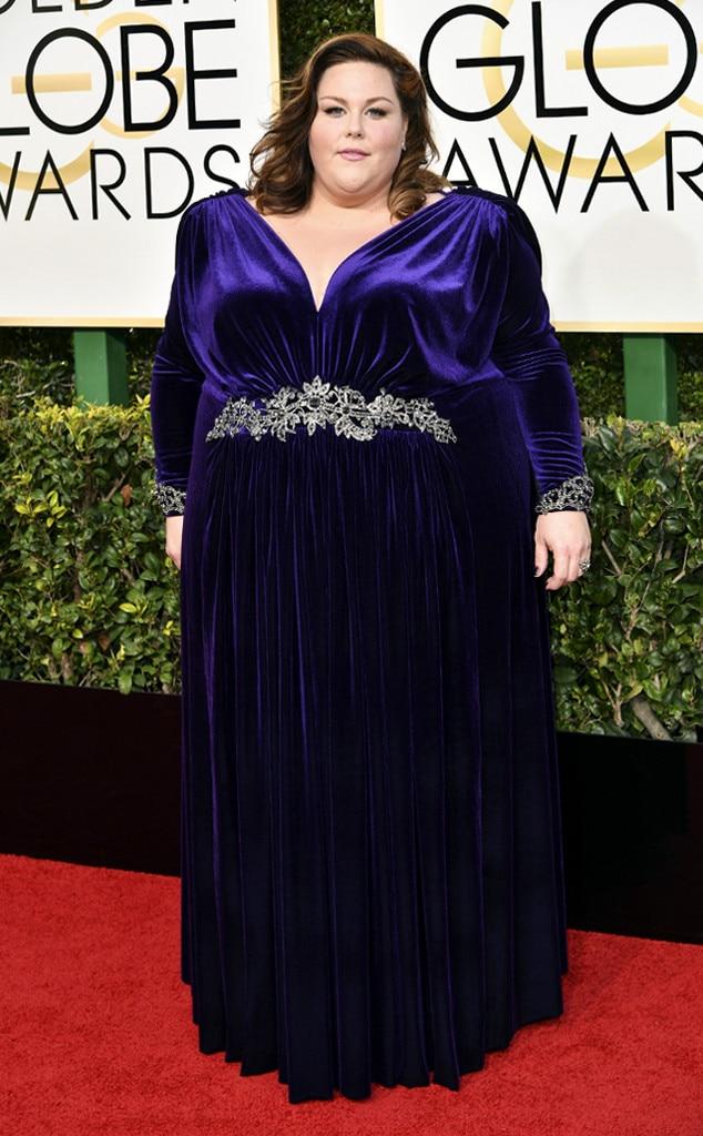 Chrissy Metz, 2017 Golden Globes, Arrivals