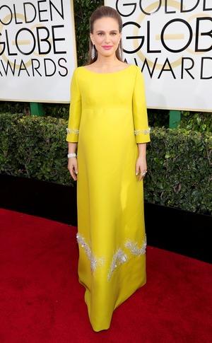 Natalie Portman, 2017 Golden Globes, Arrivals