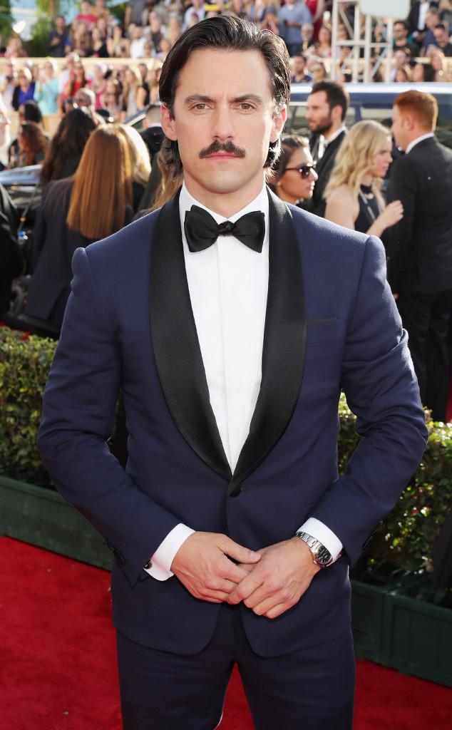 Milo Ventimiglia, 2017 Golden Globes