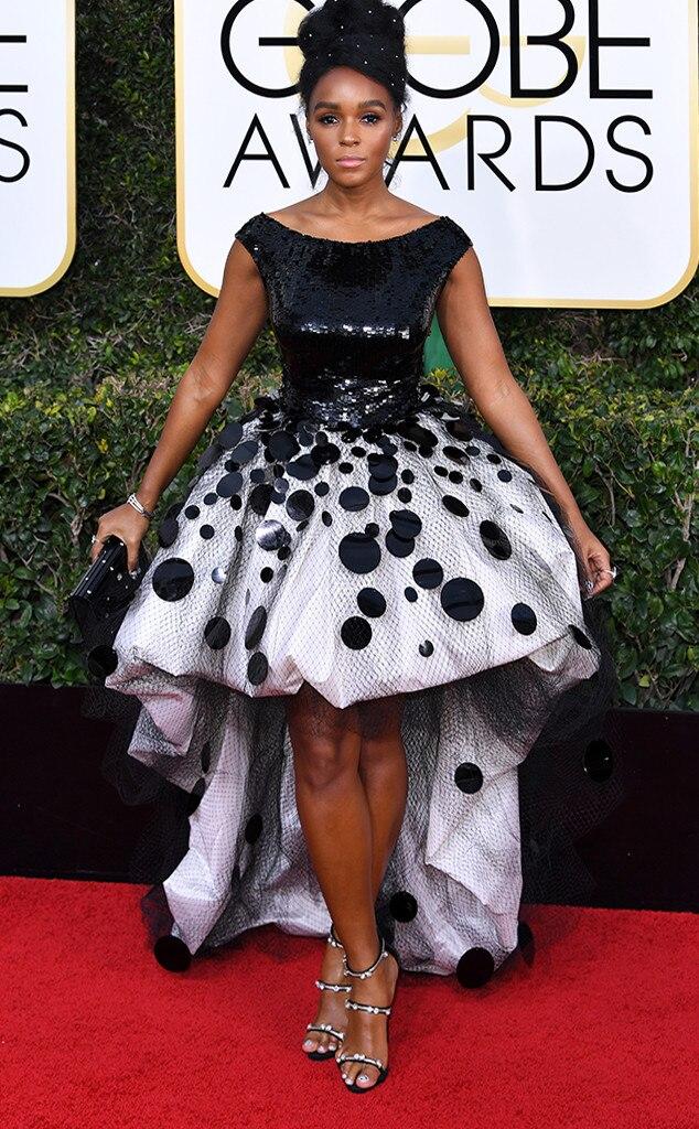 Janelle Monae, 2017 Golden Globes, Arrivals