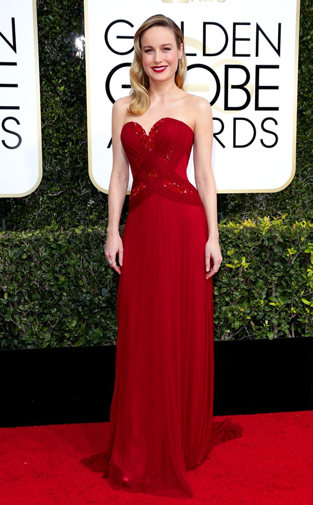Brie Larson, 2017 Golden Globes, Arrivals