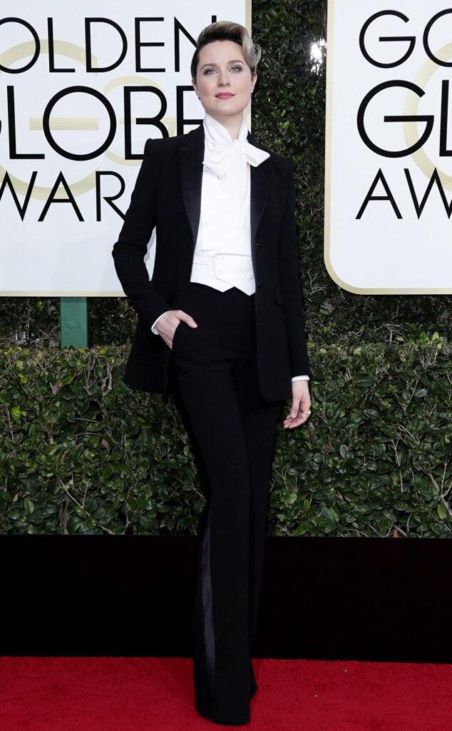Evan Rachel Wood, 2017 Golden Globes, Arrivals