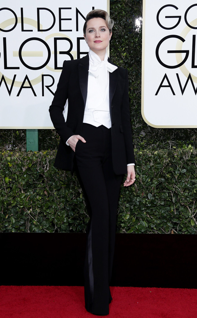 Evan Rachel Wood, 2017 Golden Globes, Arrivals