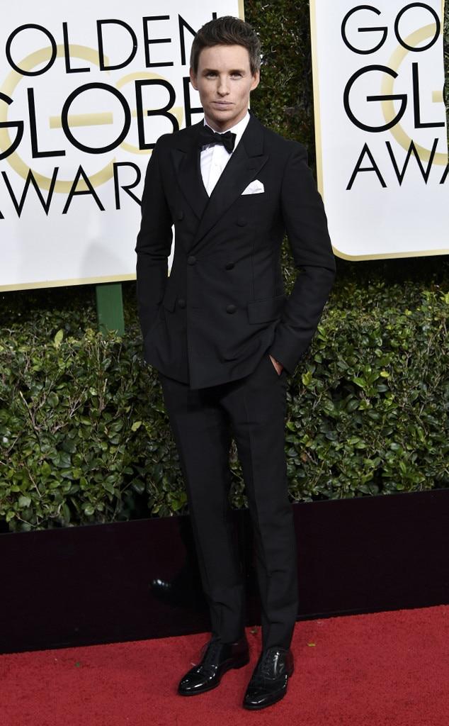 Eddie Redmayne, 2017 Golden Globes, Arrivals