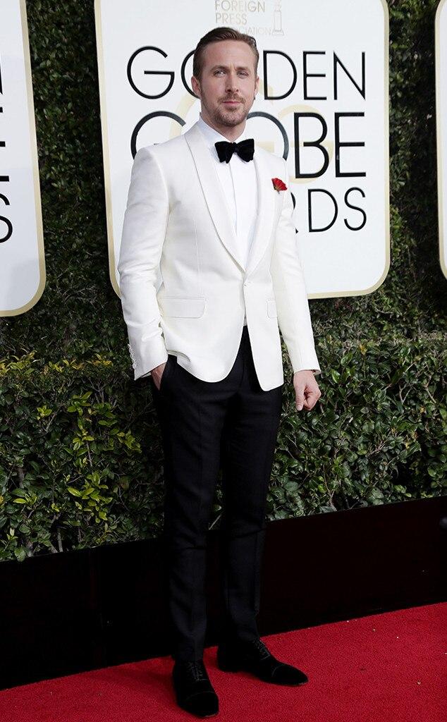 Ryan Gosling, 2017 Golden Globes, Arrivals