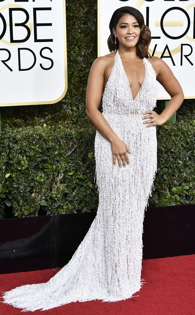 Gina Rodriguez, 2017 Golden Globes, Best Dressed