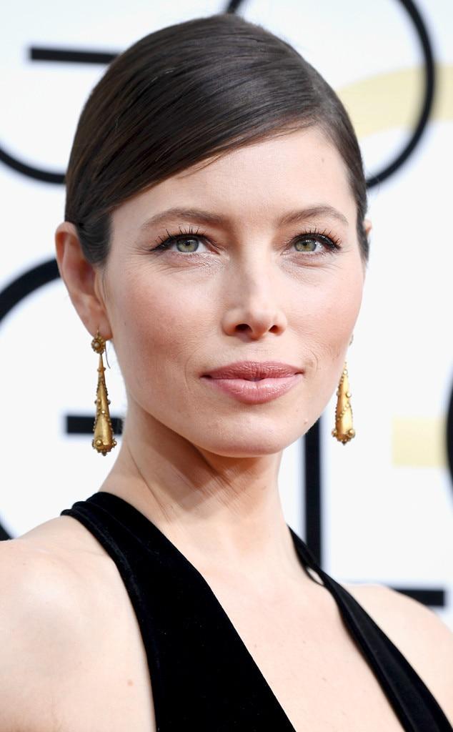 ESC: Best Beauty, Golden Globes 2017, Jessica Biel