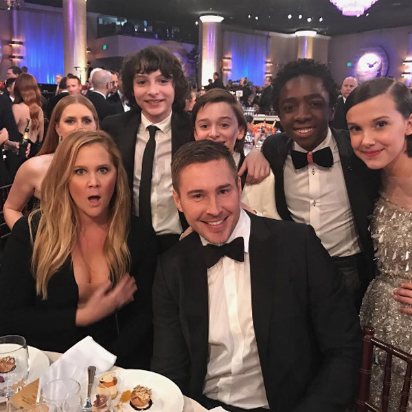 Stranger Things, Amy Schumer, Golden Globes