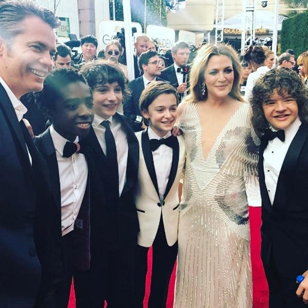 Stranger Things, Drew Barrymore, Golden Globes