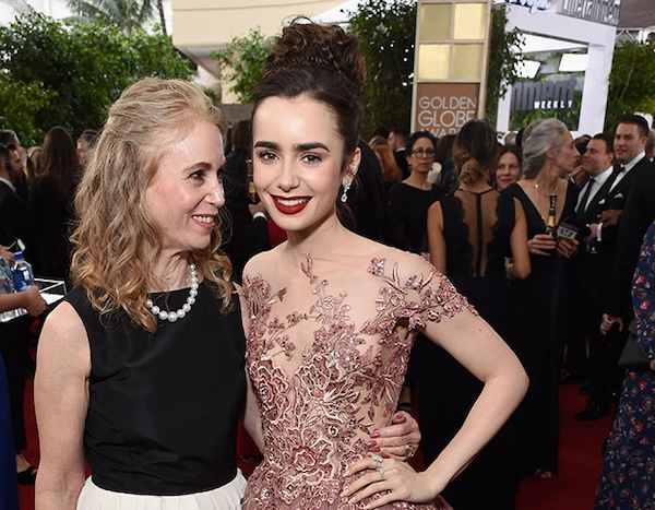 Lily Collins Mom
