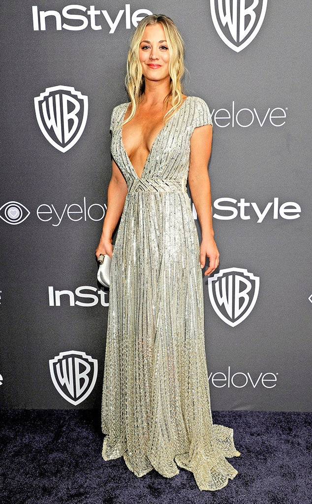 Kaley Cuoco, 2017 Golden Globe After Party