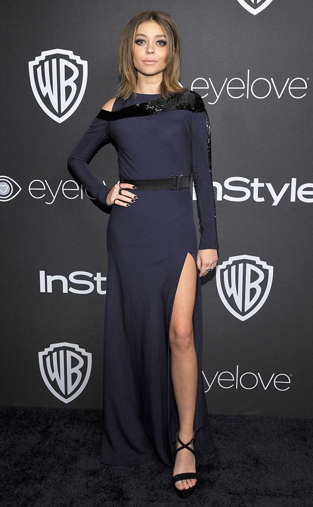 Sarah Hyland, 2017 Golden Globe After Party