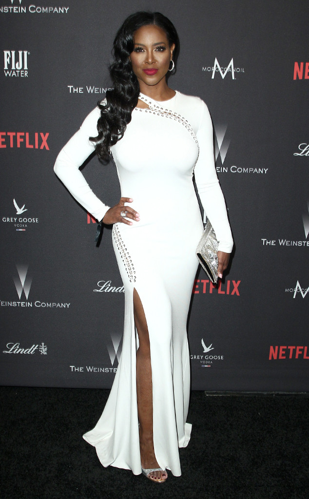 Kenya Moore, 2017 Golden Globe After Party